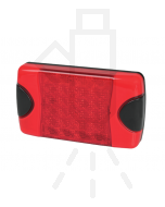 Hella 2330 DuraLed Red Stop / Rear Position Lamp