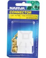 6 way Quick Connector Housing with Terminals - Male & Female (Blister Pack)