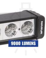 Narva 72760 9-32 Volt High Powered L.E.D Work Lamp Flood Beam Bar 9000 Lumens