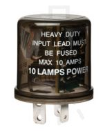 Hella High Capacity Flasher Unit - 2 Pin,12V DC (3026)