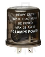 Hella High Capacity Flasher Unit - 3 Pin, 24V DC (3028)
