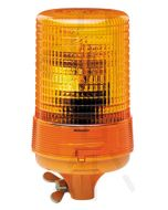 Hella KL600 Series Amber - Pipe Mount (Optic Lens), 24V DC (1713)