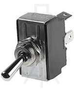 Hella On-Off-On Toggle Switch - Chrome plated (4302)