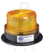 Hella Pulsator 451 Series Amber - Double Flash, Multi Voltage 12-48V DC (1645)