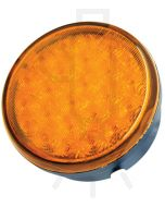 Hella Round MultiFLASH Signal LED - Amber (95901145)