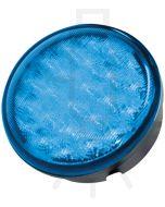 Hella Round MultiFLASH Signal LED - Blue (95901160)