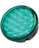 Hella Round MultiFLASH Signal LED - Green (95901165)