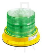 Hella UltraRAY Series - Green Illuminated, Direct Mount (HM400GDIR)