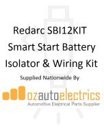 Redarc SBI12KIT Smart Start Battery Isolator & Wiring Kit